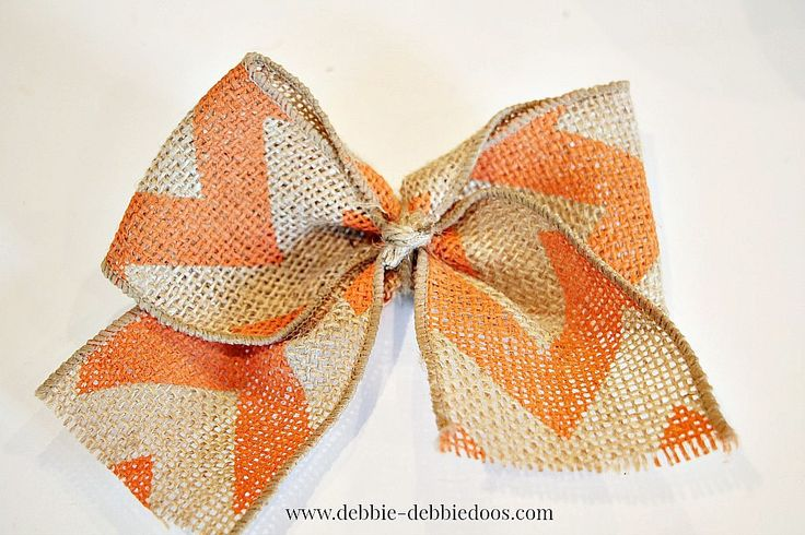 Best 25 burlap bow tutorial ideas only on pinterest for Burlap ribbon craft ideas