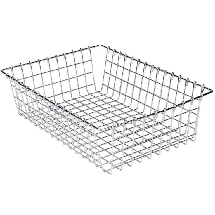 """This Choice 14"""" x 20"""" chrome wire bagel basket will allow you to clearly display, store, and transport bagels, pastries, rolls, or other bulk baked goods at your bakery, deli, or cafe. Its heavy duty nickel chrome wire construction means it can stand up to years of heavy use, and its wrapped edges allow for safe handling. <br><br><b><u>Overall Dimensions:</b></u> <br>Length: 20"""" <br>Width: 14"""" <br>Height: 5 3/4"""""""