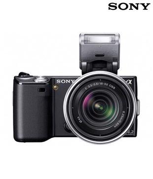 We go back to black with Sony NEX5K 14.2 MP SLR Digital Camera   http://www.snapdeal.com/product/electronic-digital-slrs/SonyNEX5K1-57543?pos=0;23