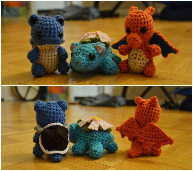 I crocheted the Kanto starter evolutions! http://ift.tt/2DycQy9