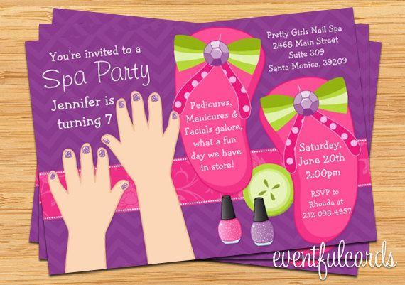 Mani Pedi Spa Party Kids Birthday -cute #soulfulindulgence #spaparty. Http://www.soulfulindulgence.com  we can design something for you---