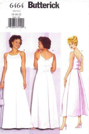 Butterick Formal Dress