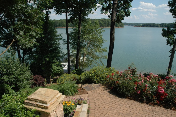Lake Keowee, SC...close to mountains and the ocean...has potential.