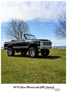 1972 K5 Chevy Blazer. Sal's future 1st ride..if my ol man has anything to do with it (: