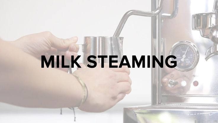 How to Steam Milk from Clive Coffee