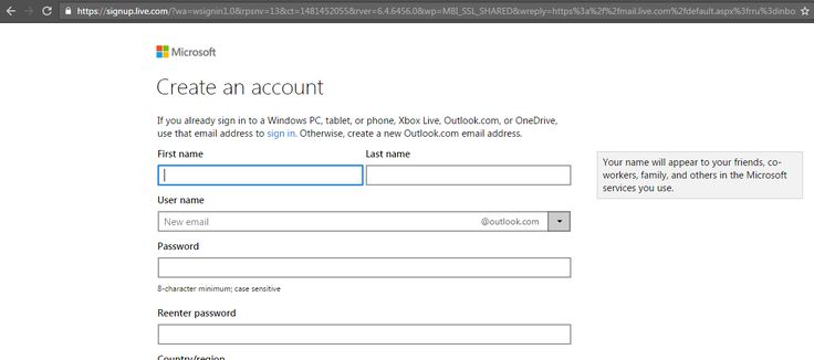 Steps for creating Hotmail account. Get guidance for all Hotmail login | sing up