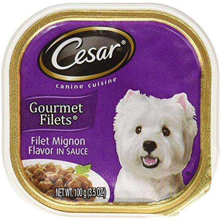 Cesar filet mignon flavor in sauce 4individual packs