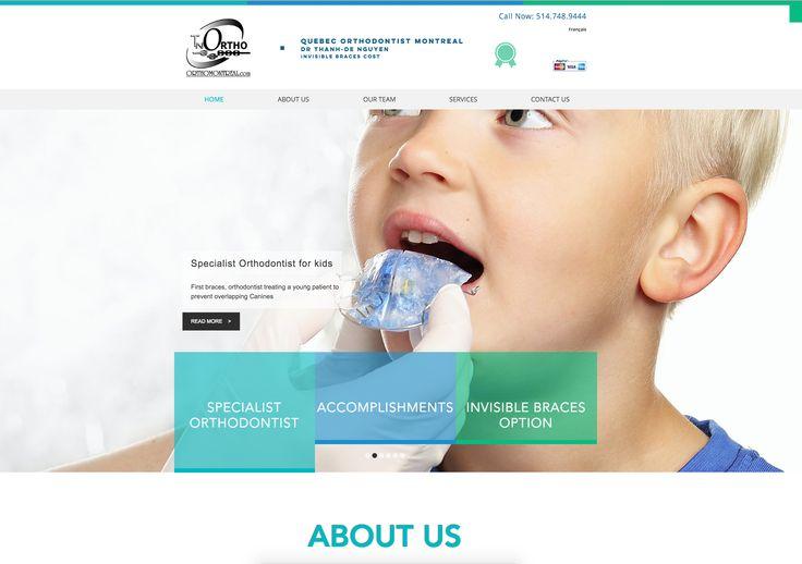 Cavalerie Web Media est sur un nouveau projet de site internet..  how much do colored braces cost Quebec Orthodontist Montreal 514-748-9444 Dr Thanh-De Nguyen invisible braces cost