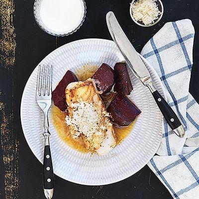 Bild på Torsk med brynt smör och pepparrot