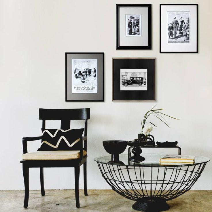 BLACK & WHITE RETRO http://www.roommy.ru/catalog/frames/blackwhiteretro/