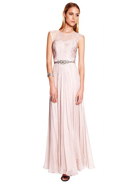 TRUESE - Romance Maxi Dress - Tea Rose - Pink - Pastel - Evening Wear - Ball Gown - Wedding - Graduation - Formal  $319.90