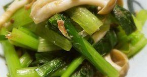 めんつゆで簡単♪小松菜としめじのおひたし by まんまるまうちゃん [クックパッド] 簡単おいしいみんなのレシピが247万品