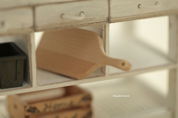 Dollhouse Accessories - Vintage Wooden tray , handmade wooden Rustic tray,Wooden Vintage tray, dolls and miniatures #kikuikestudio #Frenchstyle #decoration #ideas #design #kitchen #dollhousedecor #art