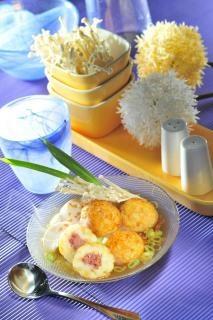 bakso kentang keju goreng