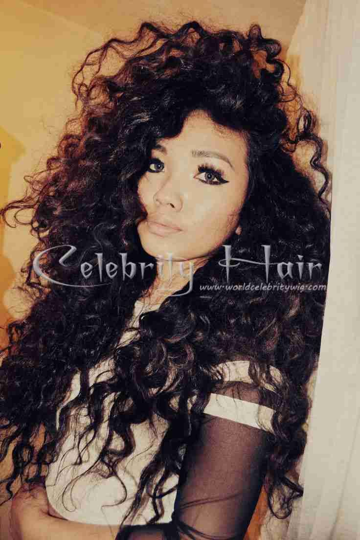 Cheap Virgin Glueless Full Lace Wigs / Lace Front Wigs Brazilian Human Hair Super Wave With Baby Hair For Fashion Women $80~$295