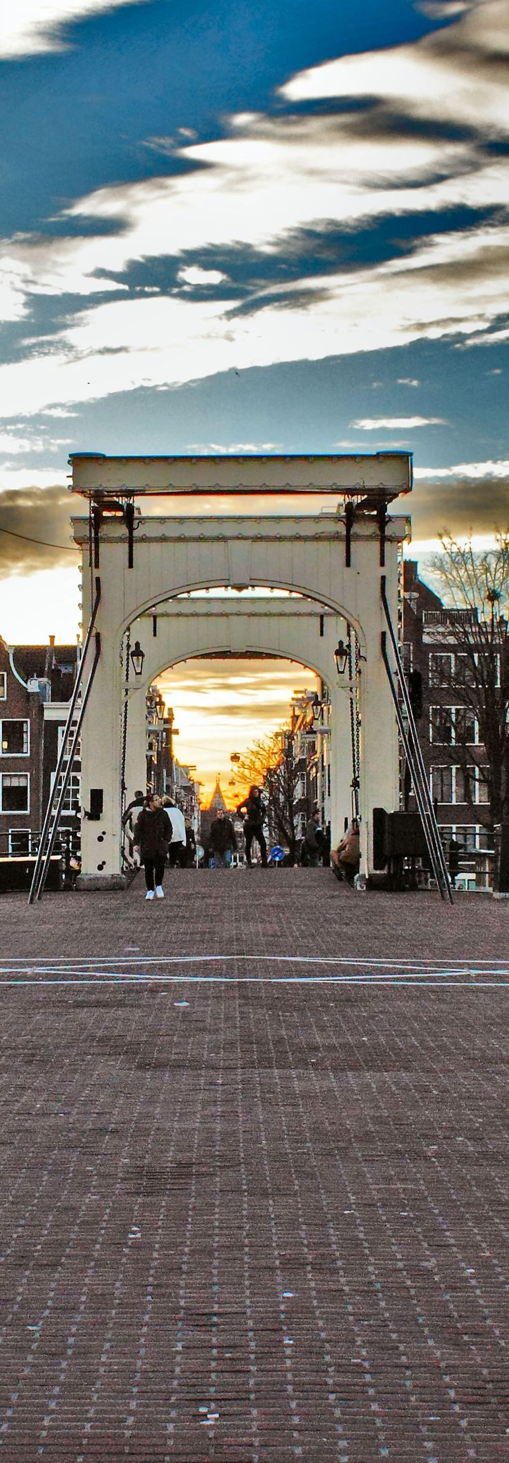 **Amsterdam, Skinny bridge ( by harry eppink) walked this bridge many mornings to the outdoor market