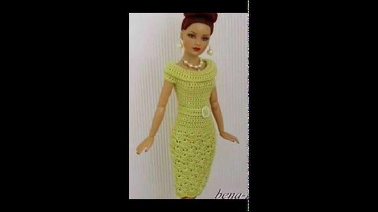 Crochet para un Vestido de Barbie..❤