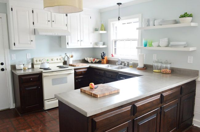 Sealing The Deal (And Our Concrete Counters) | Young House Love