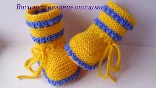 Василиса вязание спицами - YouTube