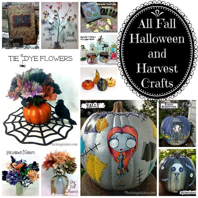 All Fall, Halloween and Harvest Crafts   Pluckingdaisies.com