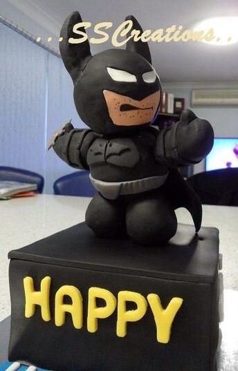 Best Birthday Cakes Images On Pinterest Batman Birthday - Dark knight birthday cake