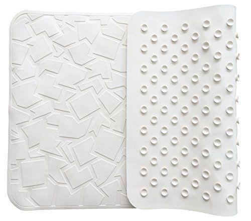"Bathtub Mat Non Slip Non-Toxic Anti Bacterial Latex-Free Natural Rubber 28x16""  #FeschDesign"