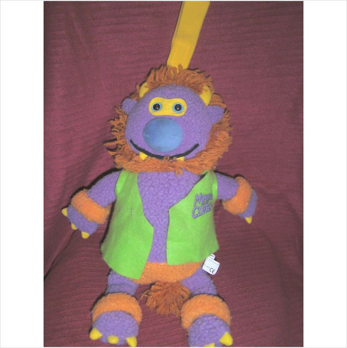 "Monster in My Closet - 1999 Rumpus corp. soft toy - 16"" H on eBid United Kingdom"