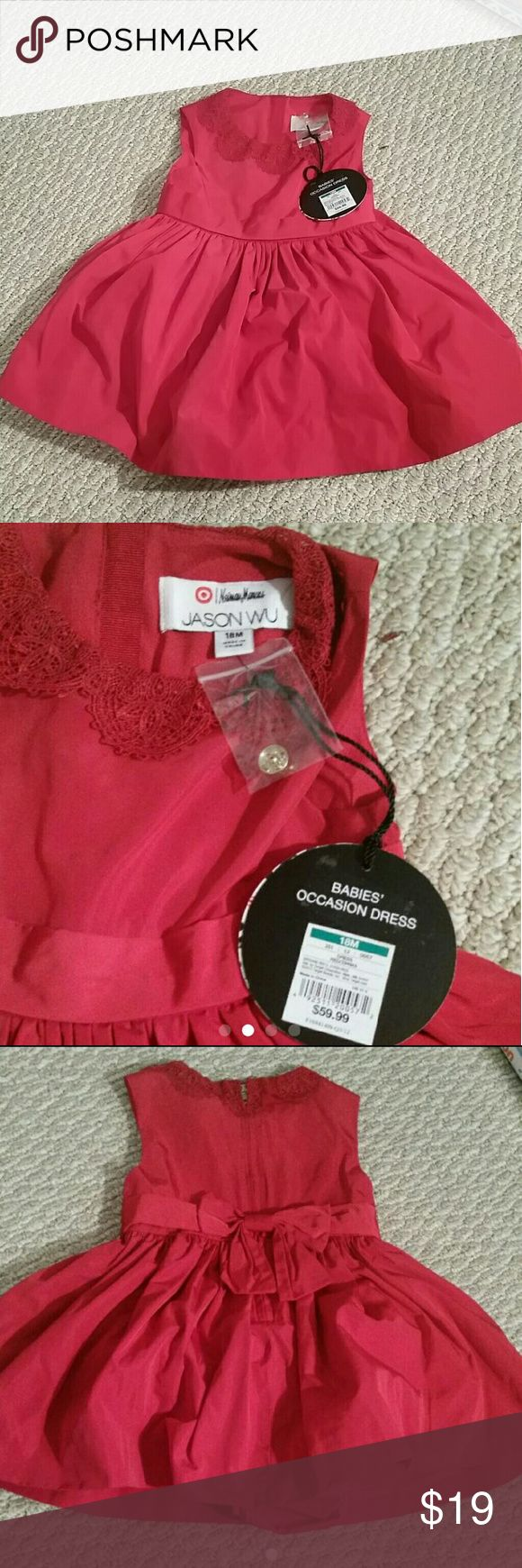Nwt 18M Neiman Marcus dress Brand new with the tag  Size 18m $59 Jason wu dress by Neiman Marcus  The dress is puffy never seen dress like these so gorgeous  You know directly if these designer dress Neiman Marcus Dresses Formal