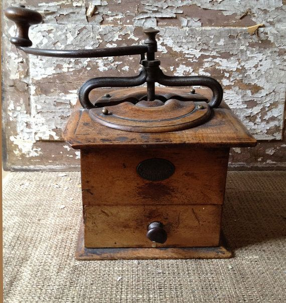 Antique French Coffee Grinder Rare Peugot by PatinaPosh ...