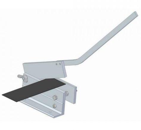Sheet metal bench shear plan