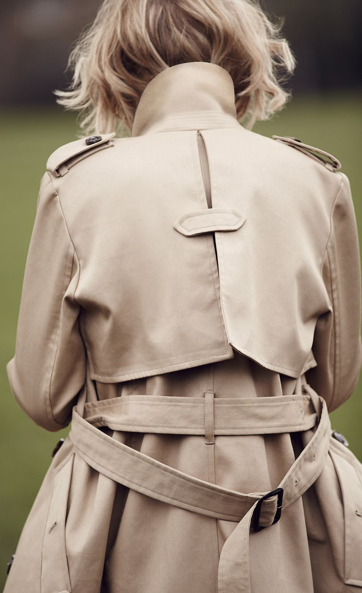 This seasons must-have we've all been waiting for. The Best of British Trench Coat that will complete all outfits.