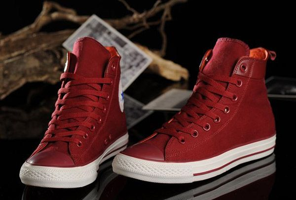Chuck Taylor All Stars Converse High top Sneakers Shoe, red