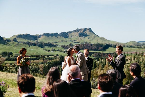 Beautiful winery wedding at Black Barn Vineyards, Hawkes Bay by Brad Boniface Photography - Full Post: http://www.brideswithoutborders.com/inspiration/beautiful-new-zealand-winery-wedding-brad-boniface-photography
