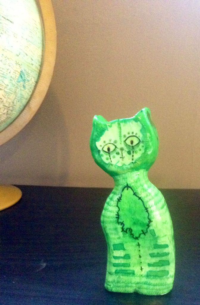 Oh, meow sculpture  -t.Doe