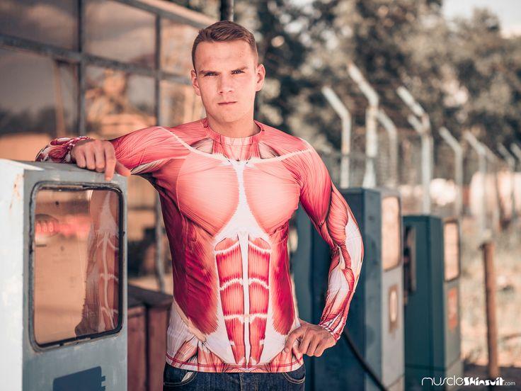 https://flic.kr/p/JeyHJW | Muscle - Rashguard long sleeve | Rashguard long sleeve from muscleskinsuit.com/