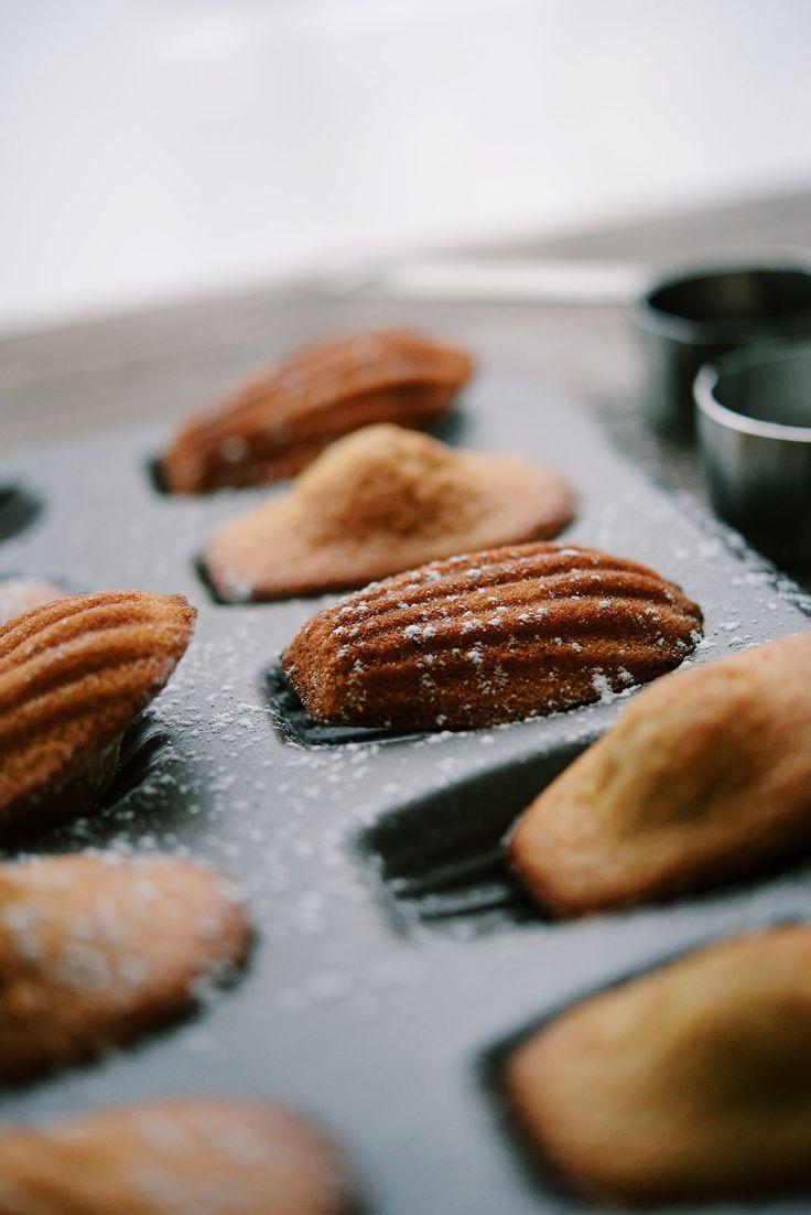 Madeleines gingembre érable (sans gluten sans lactose) - Vanessa Pouzet