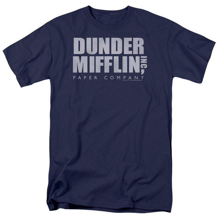 Office: Dunder Mifflin Distressed T-Shirt