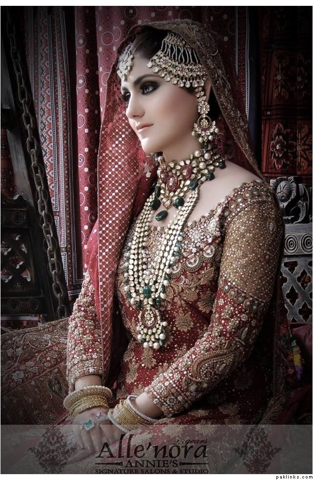 Beautiful Pakistani bride