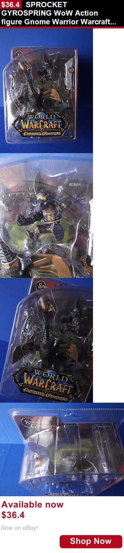 Telescope Mirrors And Prisms: Sprocket Gyrospring Wow Action Figure Gnome Warrior Warcraft Dc Series 2 BUY IT NOW ONLY: $36.4