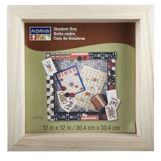 Artminds Shadow Box Champagne Corks Crafts And Paint