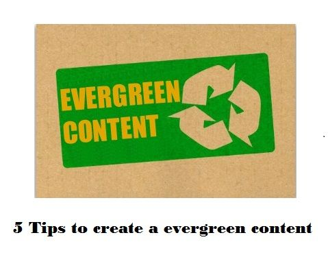 5 Tips to create a evergreen content: http://blog.webifly.com/5-tips-to-create-evergreen-content/