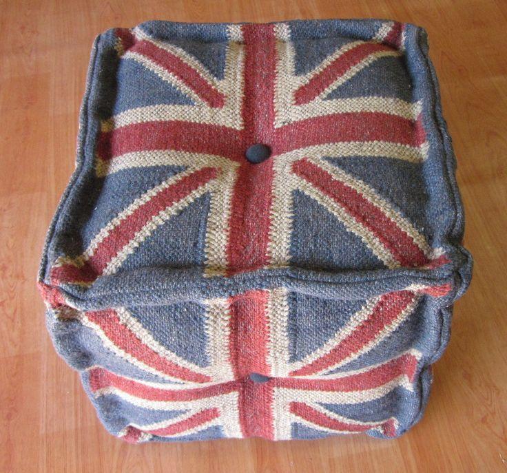 Victorian Style Handmade Ottoman 303 Multi Cushion | Temple & Webster
