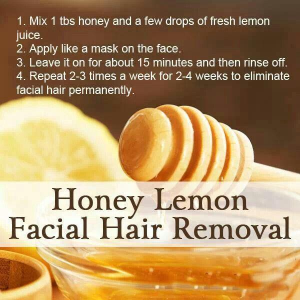 Remove facial hair permanently