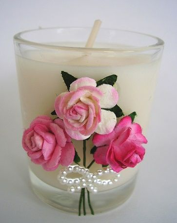 wedding favours candles - Google Search