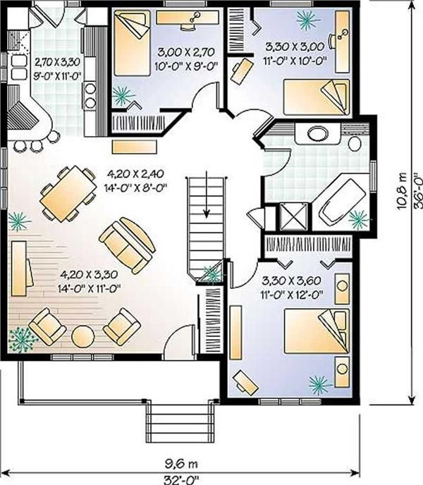 Astonishing 17 Best Images About House Plan On Pinterest Two Bedroom Largest Home Design Picture Inspirations Pitcheantrous