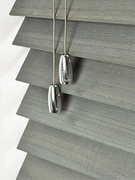 coastal wash 50mm wooden blind by tuiss