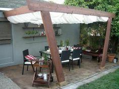 gardinen weiß terrassenüberdachung selber bauen markise