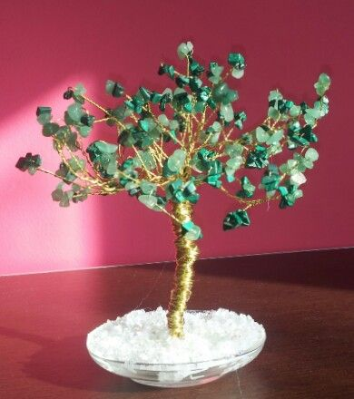Tree of Life-Malachite chips