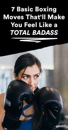 It's as easy as 1-2-3. #greatist http://greatist.com/fitness/boxing-workout-basic-moves-for-beginners