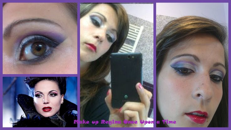Make up ispirato a Regina di Once Upon a Time